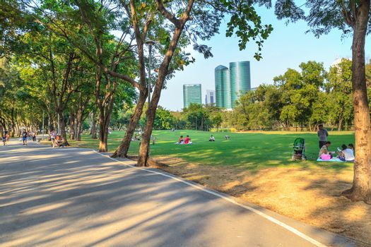 Park in city