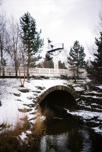 Water canal in Aviemore
