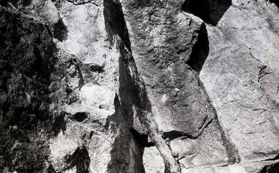 Rocks of Pass Ballater