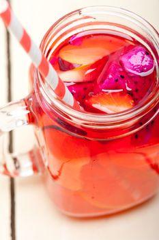 fresh fruit punch drink