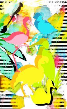 uccelli fantasia
