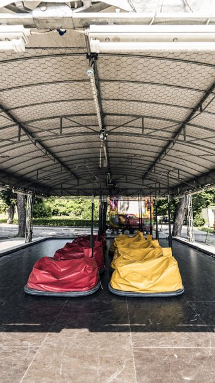 Bumper cars luna park