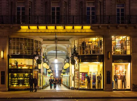 Piccadilly Arcade in London, UK