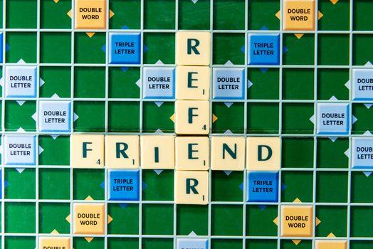 refer friend
