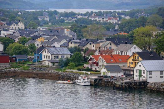 Fra kystbyen Brønnøysund St.Hans aften 2016