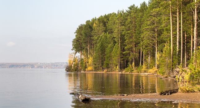 The river under the sun. Ural