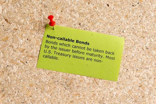 non callable bonds
