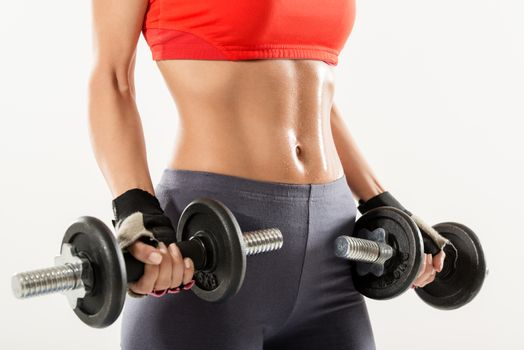 Perfect Body And Dumbbells