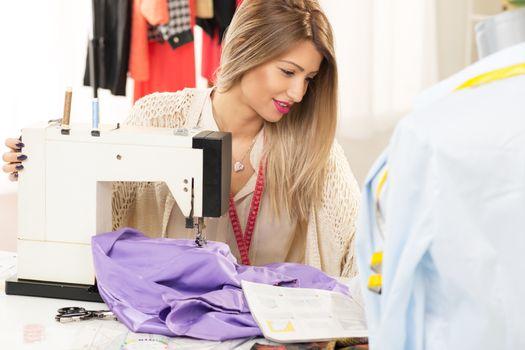 Beautiful Women Sew