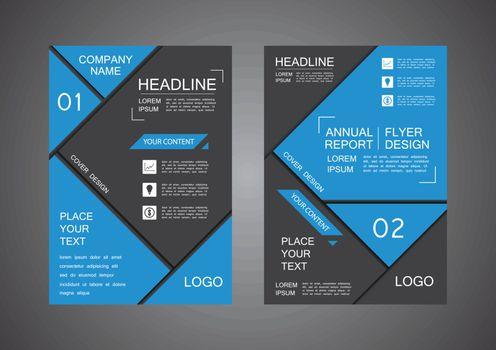triangle cover design annual report