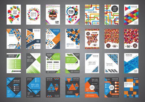 28 brochure in 1 set