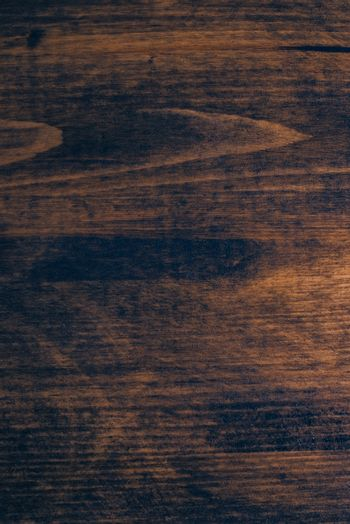 Brown pine plank texture, painted wooden board