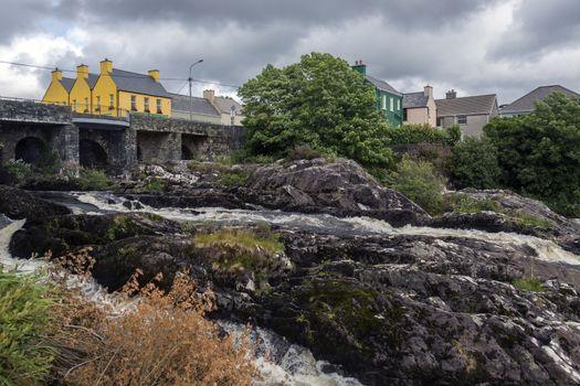 The village of Sneem - County Kerry - Ireland