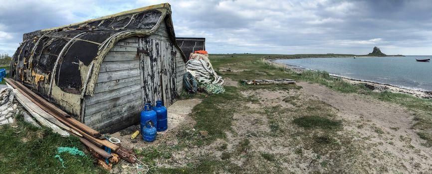 Old Boat sheds - Lindisfarne - Holy Island