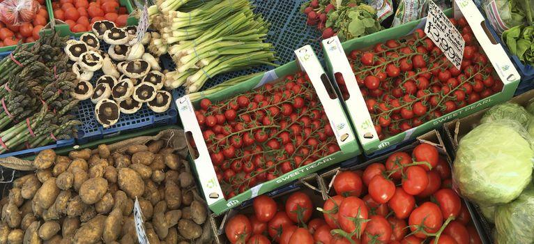 Fresh Vegetables - Market Stall