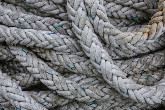Coils of strong rope