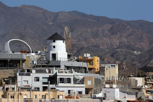 Rooftop Windmill -