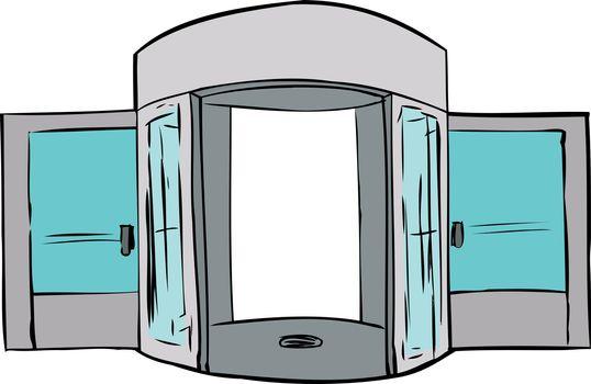 Missing Door in Doorway