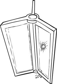Revolving Door with Hole