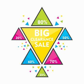 big clearance sale banner design