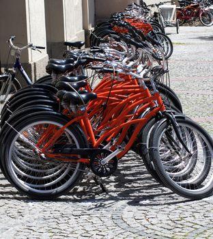 Parking of Bicycles On Sidewalk