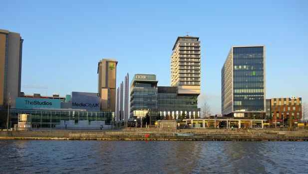 Television Studios at Media City UK.