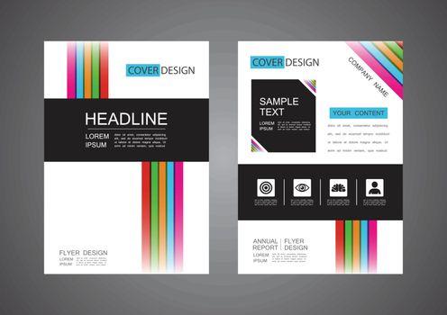 modern flyer design