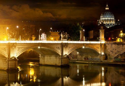 Bridge Vittorio Emanuele and Vatican