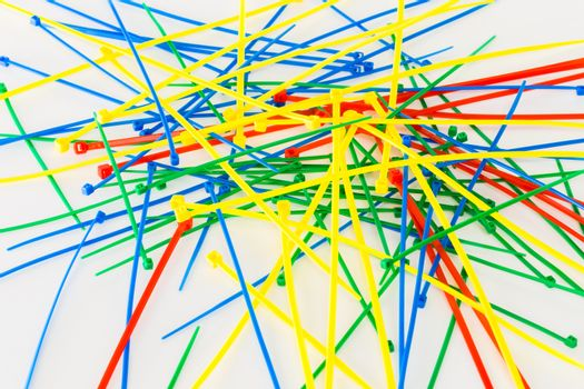 Multicolor Nylon Cable Ties