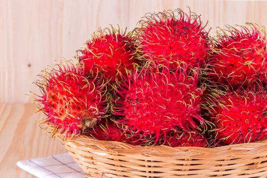Thailand rambutan fruit