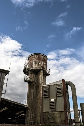 water tower and power supply