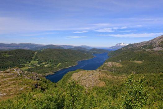 Fra tur il Ørting i Velfjord - Brønnøy