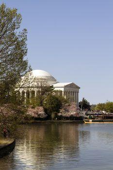Jefferson Memorial on Tidal Basin