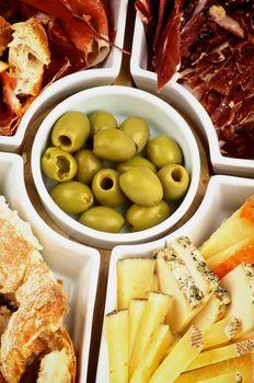 Various Spanish Snacks