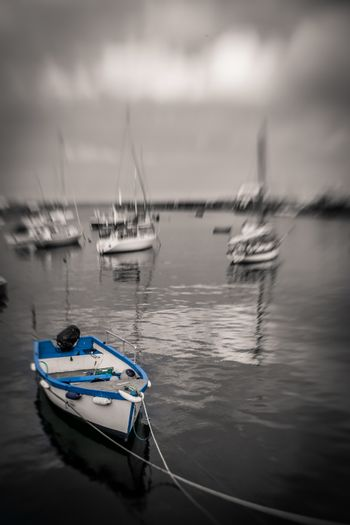 Boat in the Penzance Harbour, Cornwall, England, UK, Europe