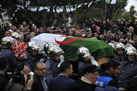 ALGERIA - POLITICS - OPPOSITION - TRIBUTE