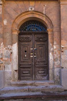 Old door, Banska Stiavnica, Slovakia