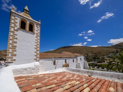Cathedral of St. Mary in Betancuria, an old capital of Fuerteventura, Canary islands, Spain