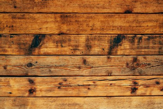 Rustic wooden planks texture as natural background