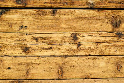 Wet planks