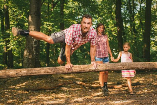 Crazy Family In The Forest