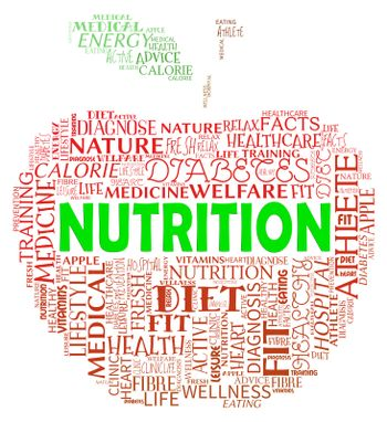 Nutrition Apple Indicates Nutrient Food And Nutriment