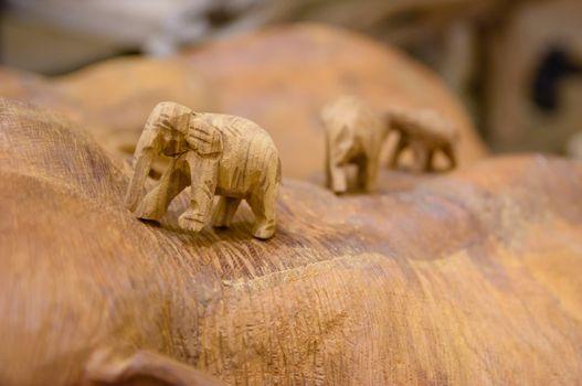 Elephant Carve handmade in thailand