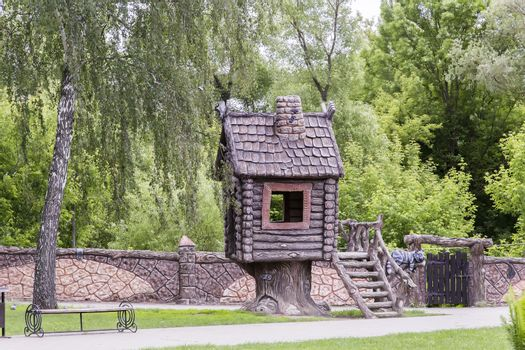 Fairy house in the children's Park.