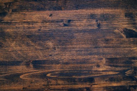 Brown painted wooden board texture