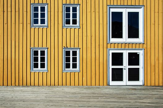 Tromso, a wooden architecture paradise in Arctic circle