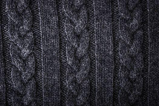 Grey figured sweater