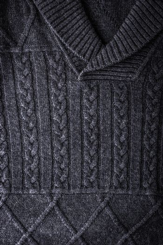 Grey figured sweater backgroun