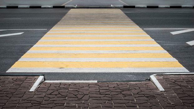 Pedestrian crossing  horizontal
