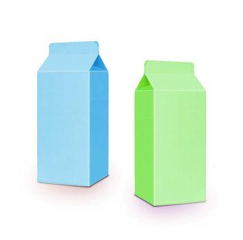milk boxes per half liter